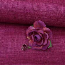 Dark Bourgonvillea Pink Milliner's Sinamay